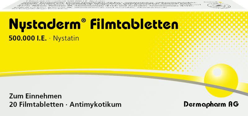 Nystaderm<sup>®</sup> Filmtabletten