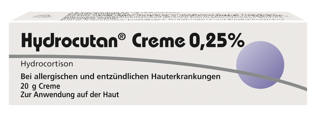 Hydrocutan<sup>®</sup> Creme 0,25%